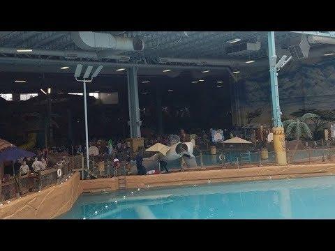 Five injured after duct work falls into pools at Kalahari waterpark resort: 911 audio, video
