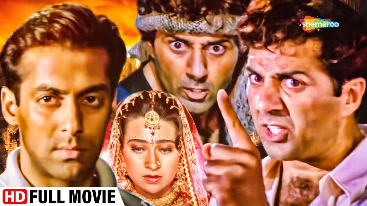 Download सनी देओल   करिश्मा कपूर। सलमान खान। खतरनाक एक्शन बॉलीवुड मूवी   Full Movie   Jeet