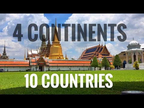 2016 Summary - 4 Continents & 10 Countries