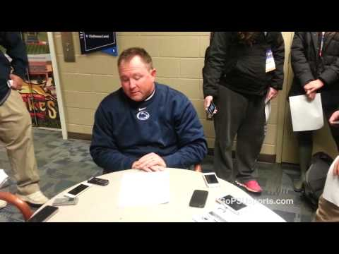 Penn State vs. West Virginia Post Game Interview