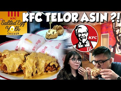 KFC SALTED EGG CHICKEN !! Review Paling Jujur !!