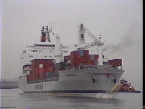 Ivaran Line's  MV Americana Passenger Cargo ship
