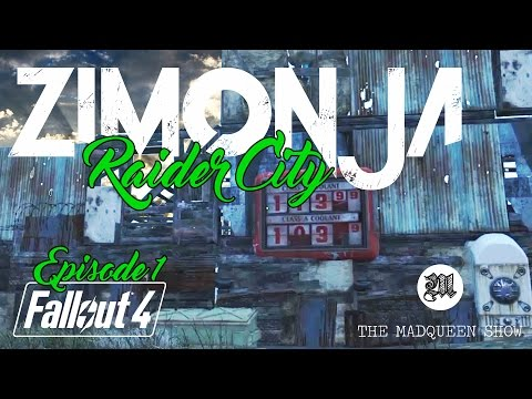 FALLOUT 4: LET'S BUILD Outpost Zimonja Raider City Ep. 1 [PS4 - No Mods]