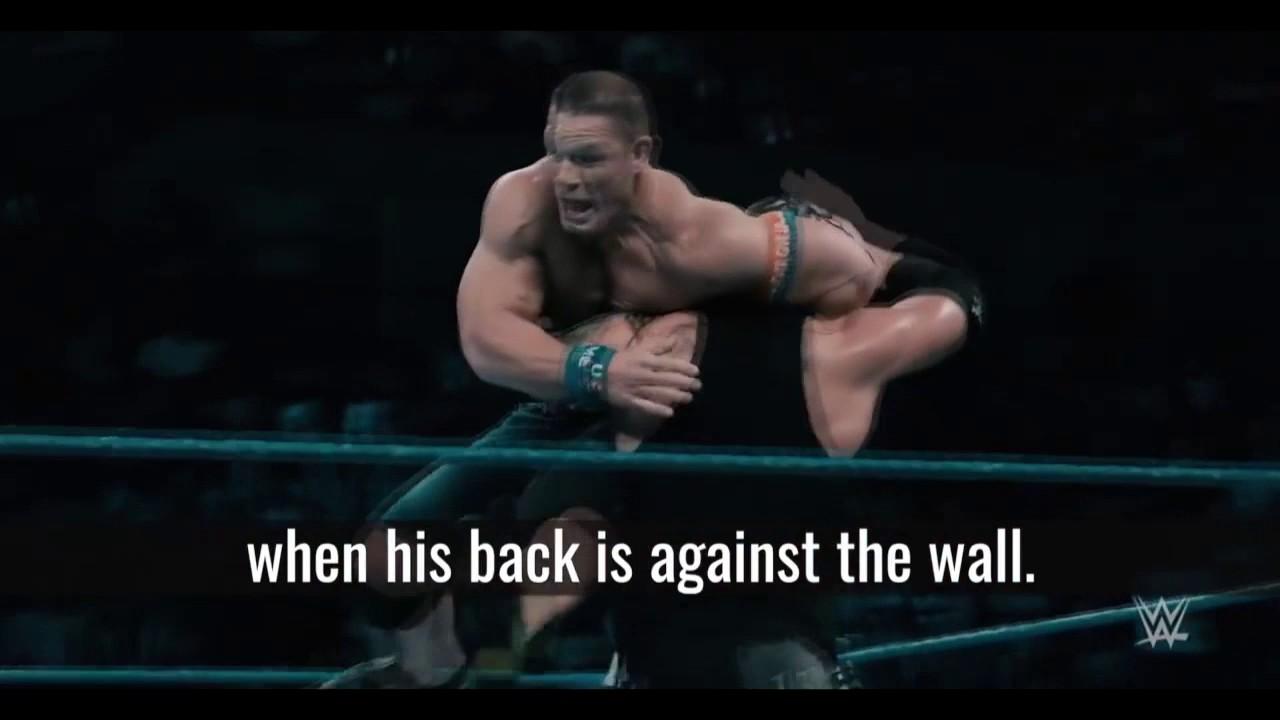 John Cena No Matter How Severe The Failure Never Give Up Motivation Youtube