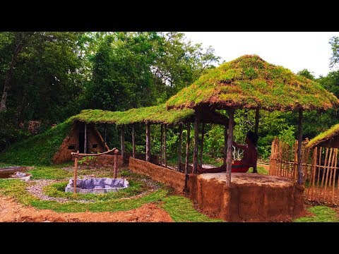 Secret Of Primitive: Building Walkway From House To Relax Hut