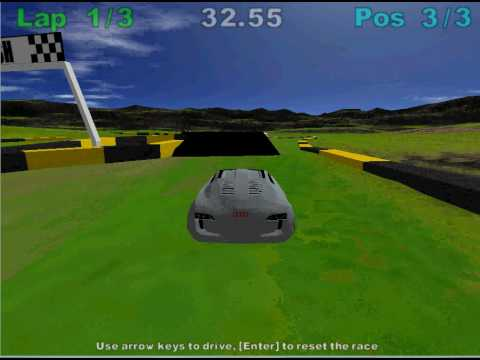 Audi RSQ Race in 3D Rad