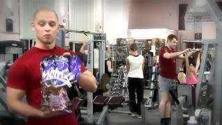 Натурал Бодибилдинг - Программа Тренировок На Неделю И Замеры(31.03.2013) [Программа Тренировок На