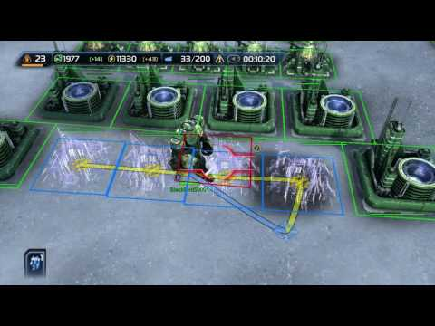 Wannabegamers - Supreme Commander 2 - How to win a Online match - UCF Faction - 1v1