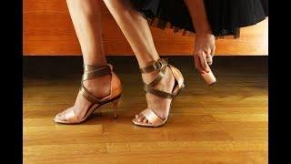 ★ Туфли со съемными каблуками. Удобное изобретение на все случаи жизни.