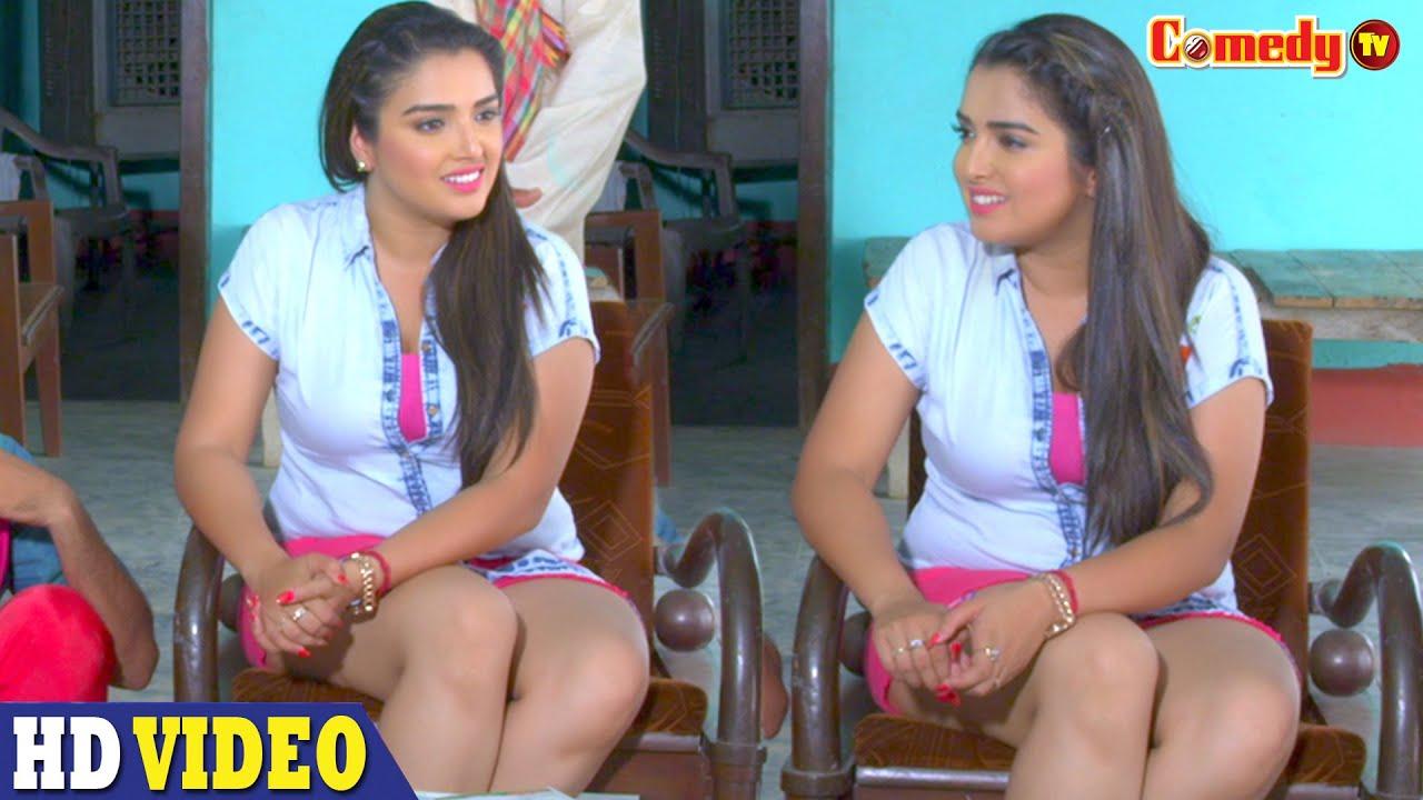 Aamrapali Dubey   शहर का चकाचोंन छोड़ के   Manoj Tiger   Superhit भोजपुरी Bhojpuri Comedy Scene