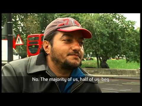 On the streets with the Roma people living in Britain