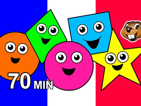 """Colors & Shapes"" Kids FRENCH 