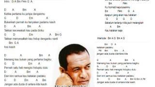 JANGAN ADA DUSTA (by BRORY ft DEWI YULL) KARAOKE - KUNCI GITAR