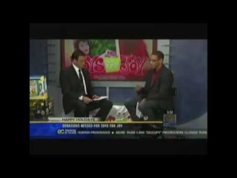 "Rock Church- KFMB 8 San Diego ""Donations Needed for Toys for Joy"" with Miles McPherson"