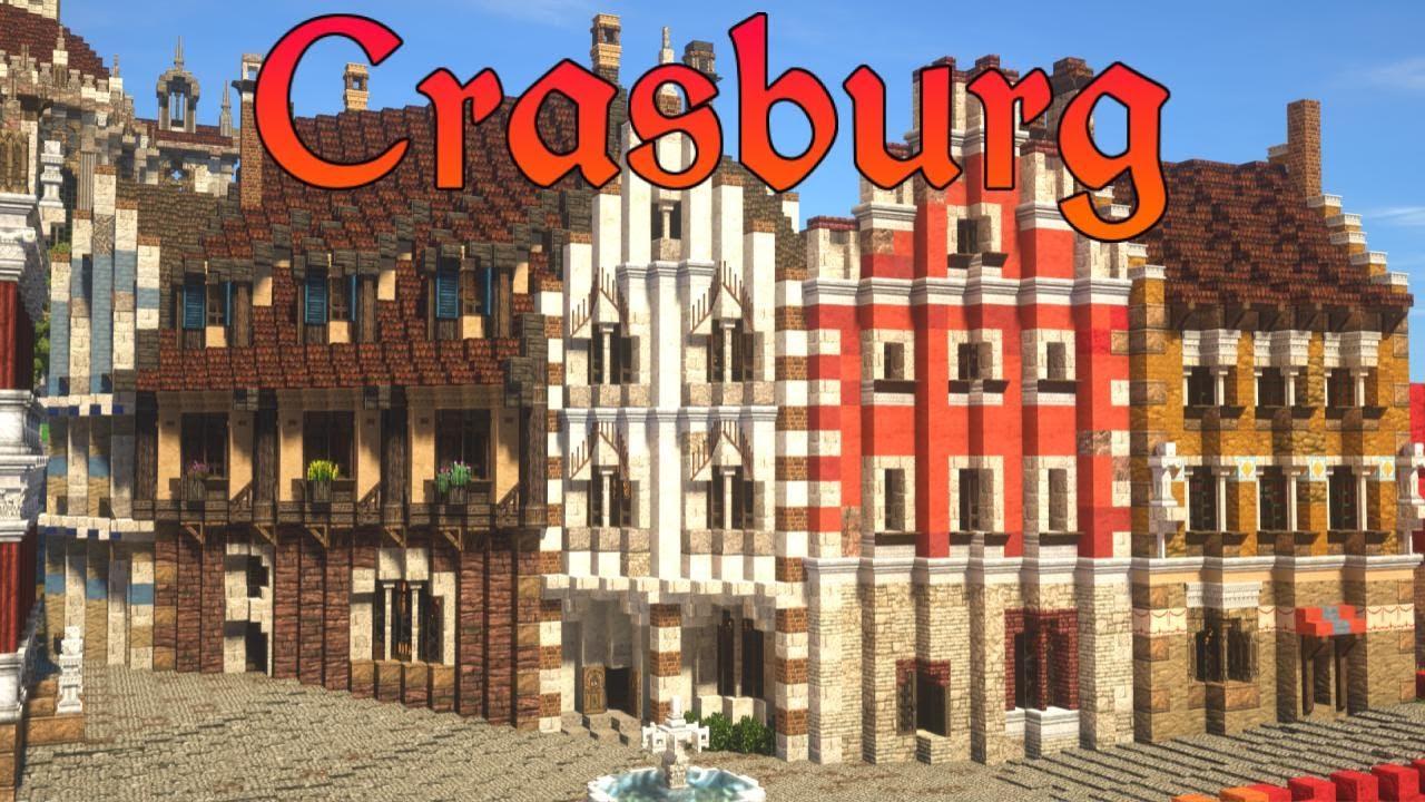 City Culture | Crasburg | Episode 85 - Medieval Minecraft City Building