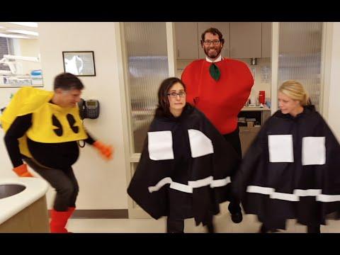 UW Orthodontics - PACMAN Halloween!