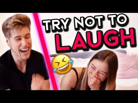 TRY NOT to LAUGH /w GIRLFRIEND (CHALLENGE!!)