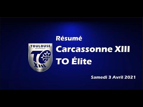 Résumé Carcassonne XIII v TO Elite - 10ème journée Elite 1 2021-2022 - 03.04.21