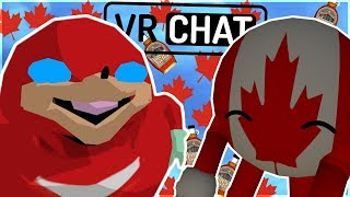 [VRChat] HILARIOUS CANADIAN AVATARS + SOUNDBOARD TROLLING! (CRYING IN LAUGHTER! xD)