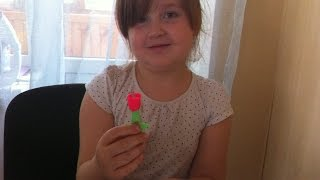 розочка своими руками из пластилина Play-Doh часть 1