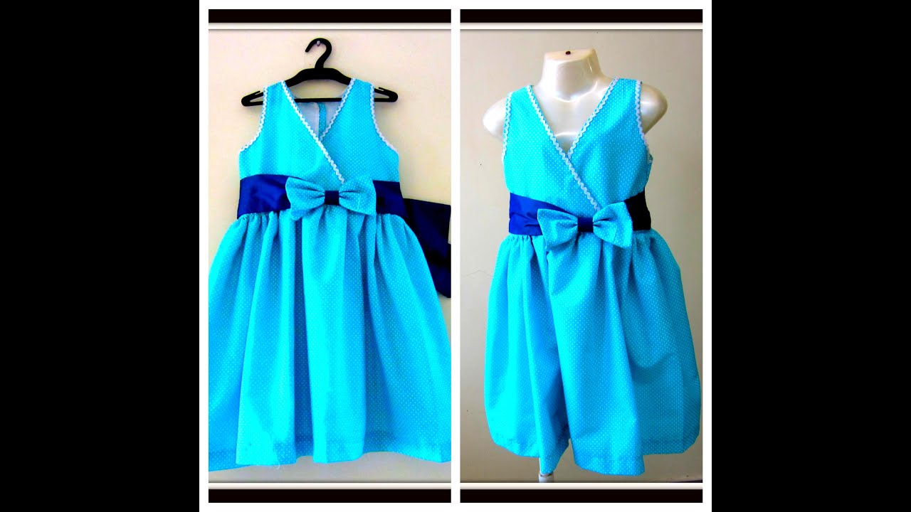 PRETTY BABY FROCK FOR UR PRINCESS- EASY DRAFTING, CUTTING ...