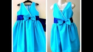 pretty frock for ur princess easy drafting cutting sewing