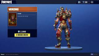 *NEW* FORTNITE BATTLE ROYALE | WUKONG OUTFIT/SKIN 🙉 🔥