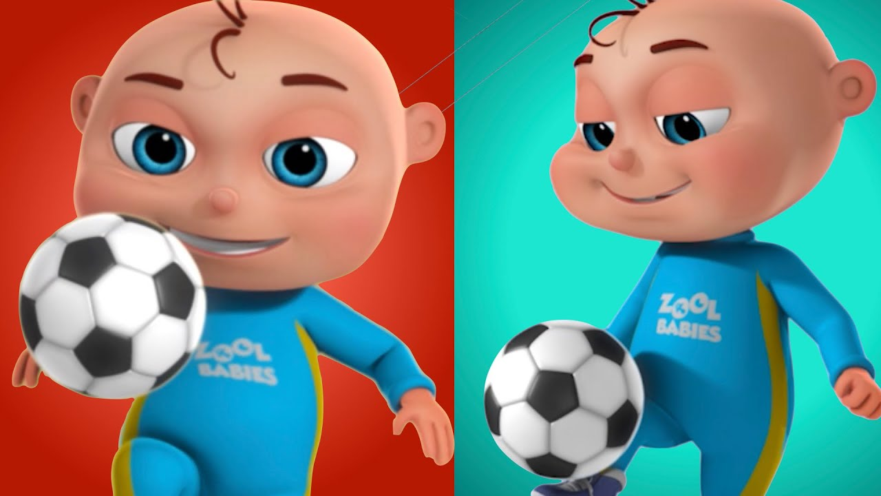 Zool Babies Series | Soccer (Football)Training Episode | Cartoon Animation For Children | Kids Shows