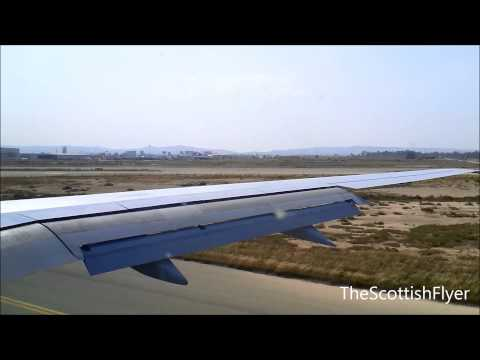 Thomson Airways 757-200 Landing At Larnaca Cyprus - July 10th 2011
