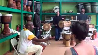 Amara Kante - Solo Phrases - @ Wula Drum, New York City