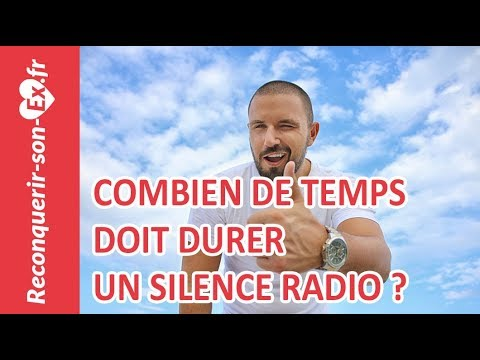 combien de temps dure un silence radio un coach pour reconqu rir son ex vous r pond youtube. Black Bedroom Furniture Sets. Home Design Ideas