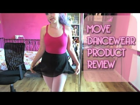 MOVE Dancewear Product Review - Ballet Leotard Convertible Tights Skirt Tote Bag