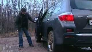 2011 Toyota Highlander / Тест-драйв