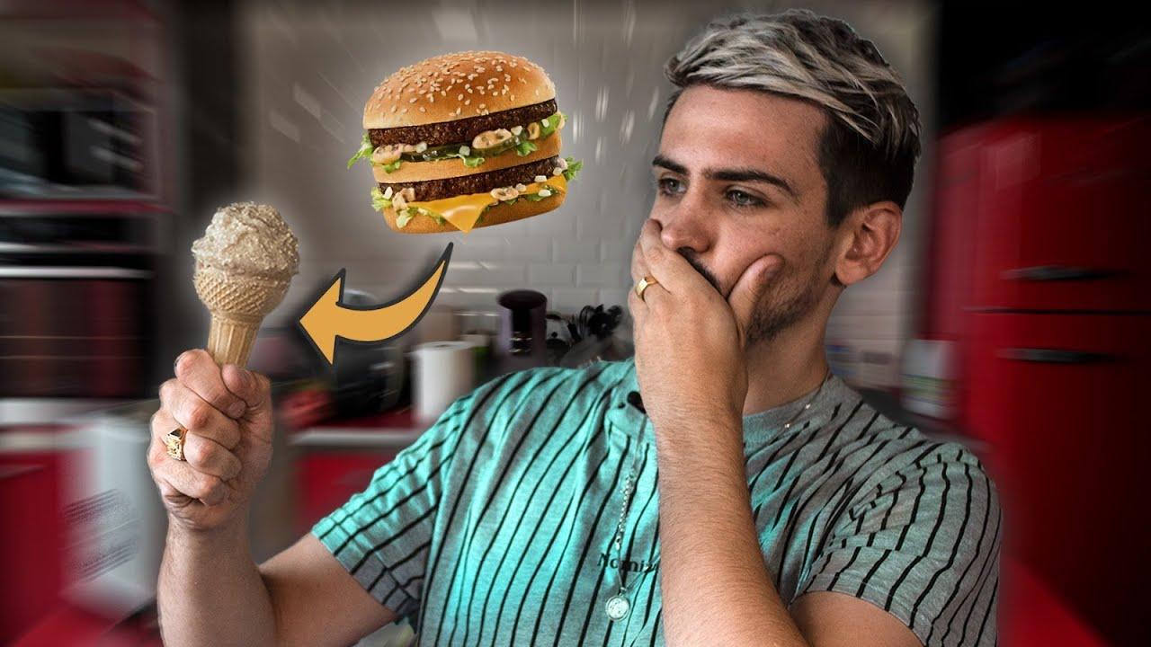 Download JE TENTE DE FAIRE DES GLACES INSOLITES (Genre Big Mac)
