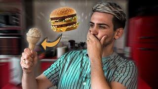 JE TENTE DE FAIRE DES GLACES INSOLITES (Genre Big Mac)