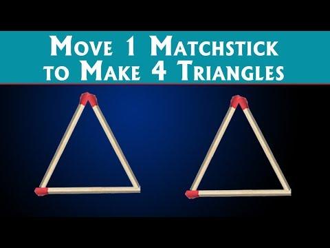 5 Matchstick Puzzles