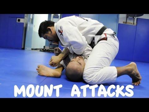 Mount Attacks: Armbar, Shoulder Lock, Wrist Lock and Omoplata with Professor Kris Kim
