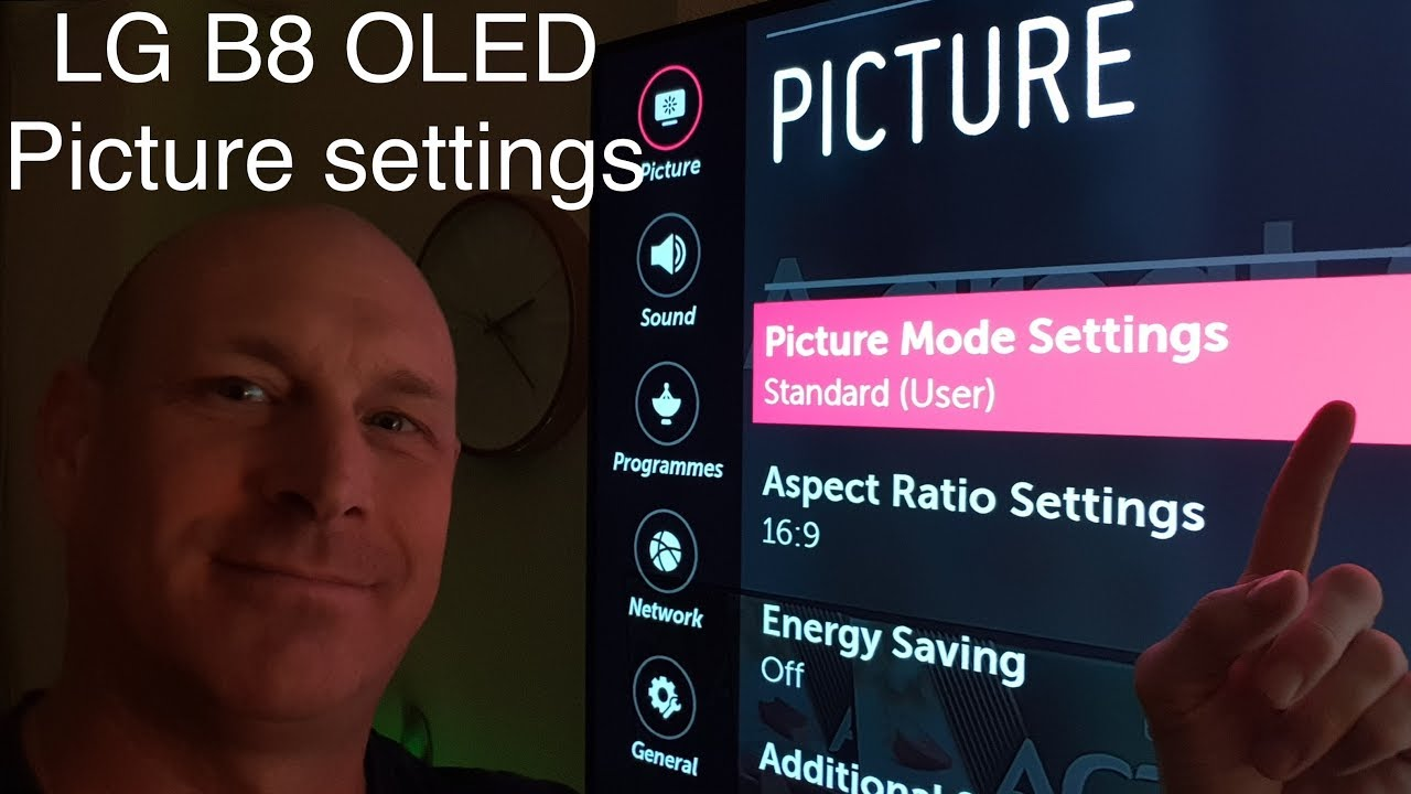 My picture settings for LG B8 OLED / OLED55B8SLC