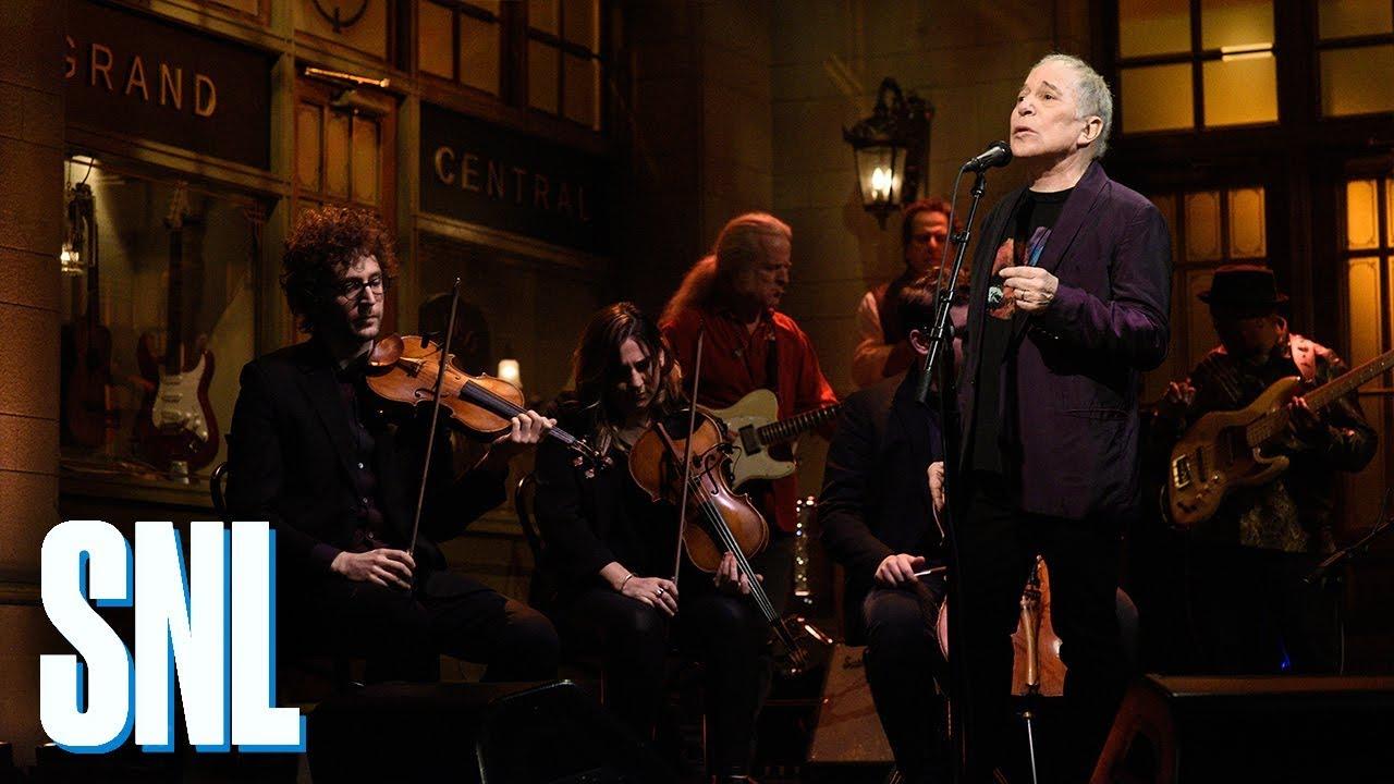 Paul Simon: Bridge Over Troubled Water (Live) - SNL