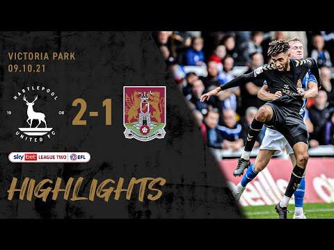 Hartlepool Northampton Goals And Highlights