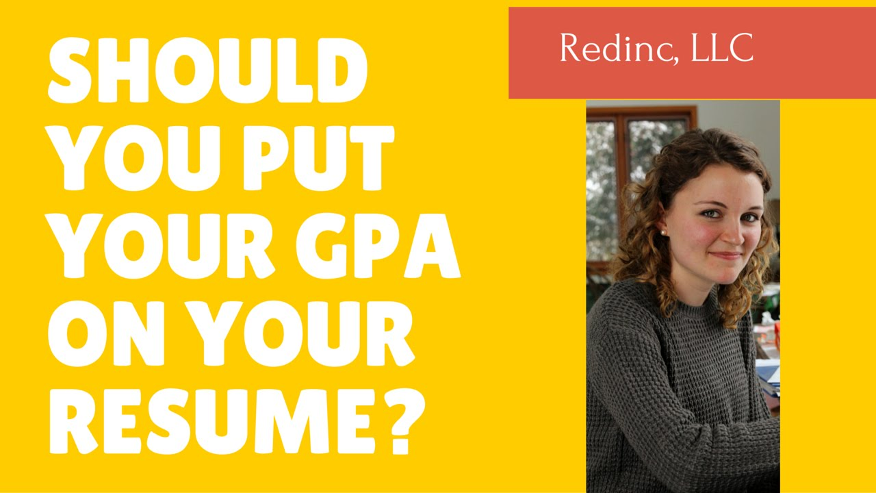 Resume Should You Put Your Gpa On Your Resume should you put your gpa on resume entry level writing tips