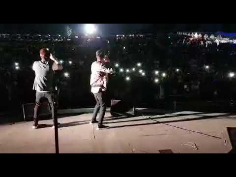 Snapchat Story - bilal Saeed - Romee Khan live performance