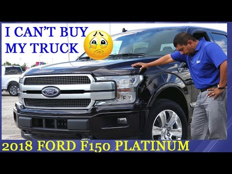 My 2018 F-150 is in BUT I CAN'T BUY IT