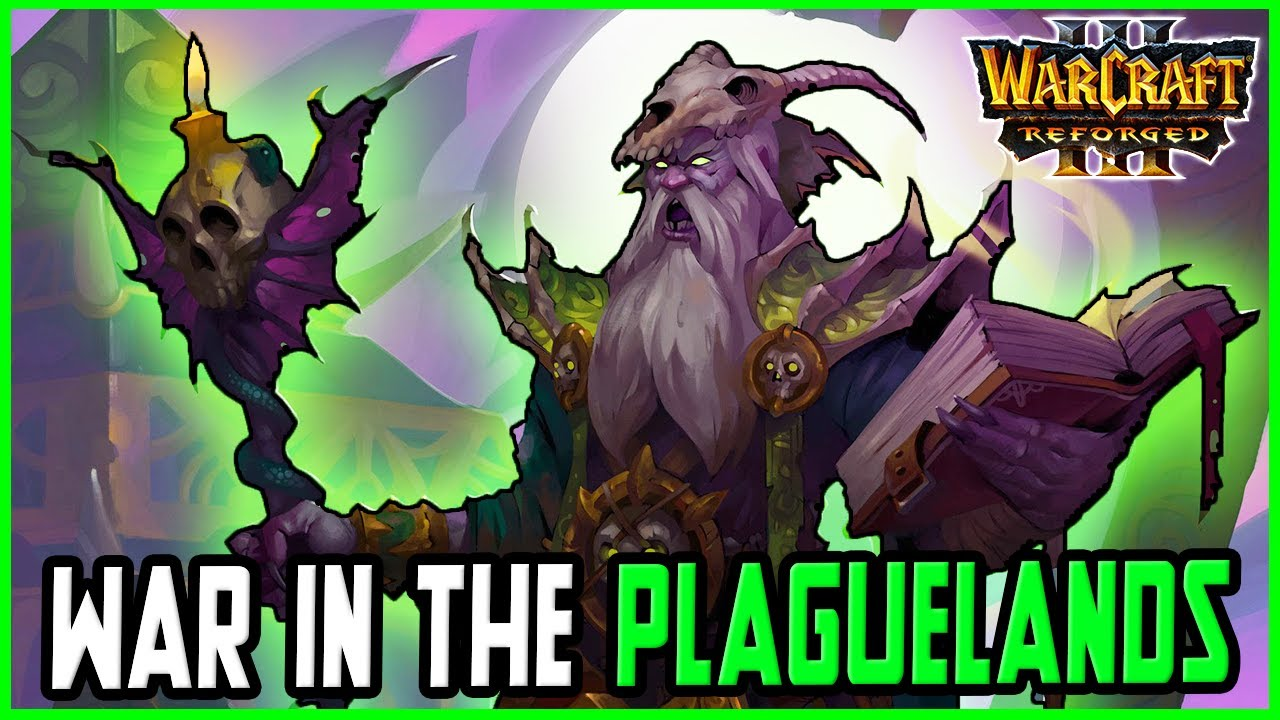War in the Plaguelands Reborn: Andorhal's Scourge|Warcraft 3 Reforged  (Gray / 12P)