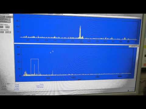 radioactive quantum scalar energy pendant, gamma spectroscopy