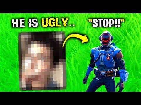 I Made Him Face REVEAL.. (Fortnite)