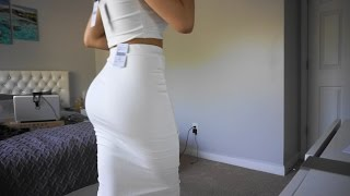 TRY ON FASHIONNOVA CUTE/SEXY DRESS FOR SUMMER