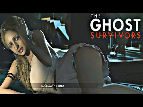 Resident Evil 2 Remake - Ghost Survivors DLC Katherina Runaway Walkthrough (PS4 Pro)