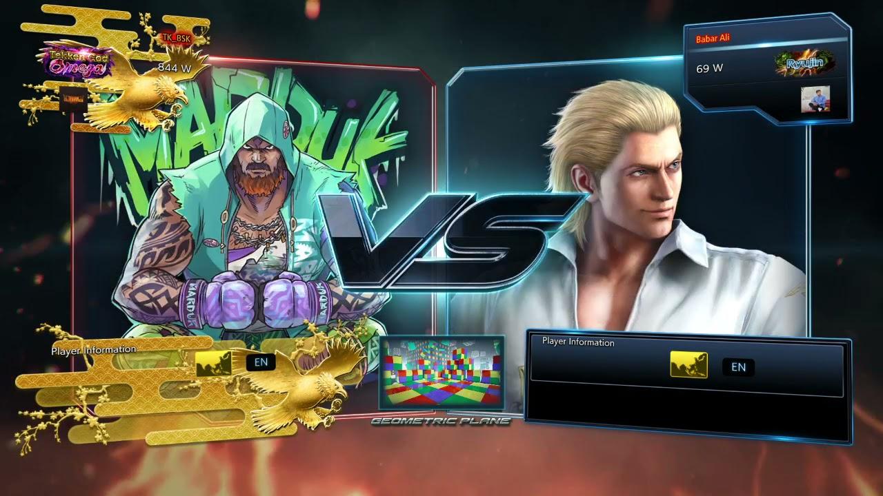 BSK (Marduk) VS Babar Ali (Steve) Tekken 7 Pakistan