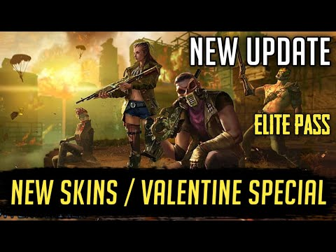 New Updates 🙀 [ Upcoming Elite Pass || New Skins || Valentine Special ] Free Fire - Gaming Aura 🔥
